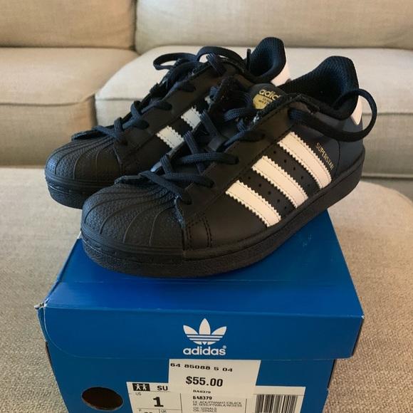 adidas Other - Boys  Adidas superstars size 1 189faf686